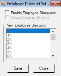 Setting up Employee Discounts - Rts